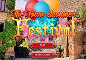 Préparations pour le festival d'été