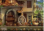 Recherche de métal précieux au village