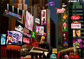 Numéros cachés à Times Square