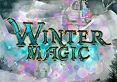 La forêt magique en hiver
